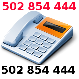 Szybki kontakt - 502 854 444